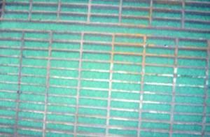 floor grate after