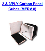 2 3 ply carbon panel cubes merv 8