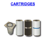 powder booth cartridges filters