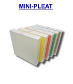 mini pleat