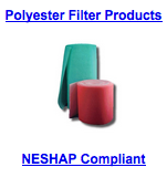 polyester filter products