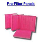 pre filter panels