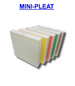 mini pleat