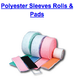 polyester sleeves rolls pads